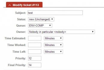 Set the owner of the ticket