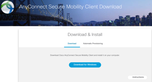 AnyConnect Secure Mobility Client Download
